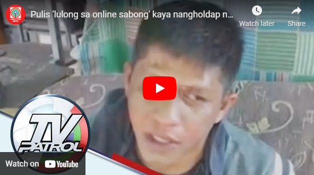 Sabong addiction leads QC police to commit armed robbery
